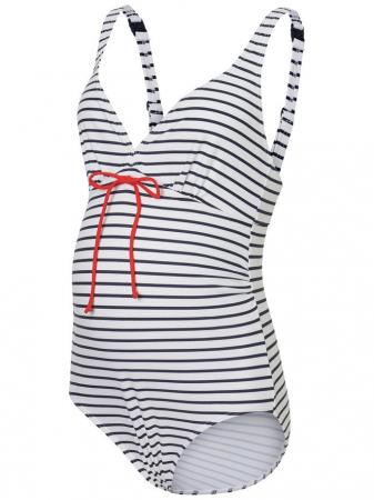 Costum de baie pentru gravide Josefine Stripy4