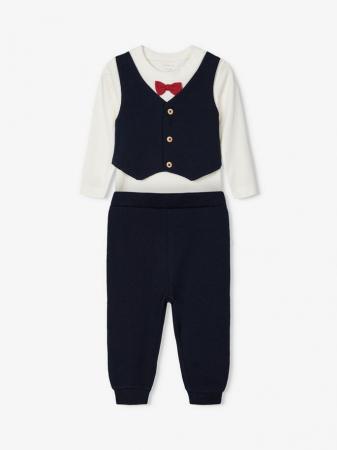 Costumas bebelusi, bumbac organic, baieti - Name It Renin0
