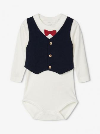 Costumas bebelusi, bumbac organic, baieti - Name It Renin2