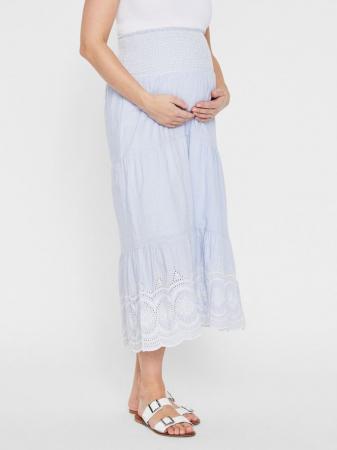 Fusta lunga pentru gravide Mamalicious Leila1