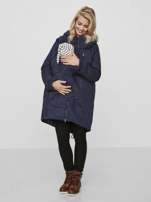 Geaca gravide si babywearing 3 in 1 Tikka Carry Me Blue Navy1
