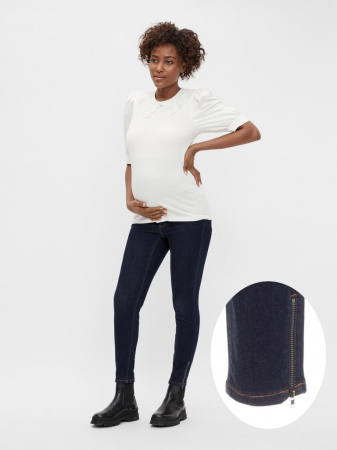 jeans-slim-gravide-bumbac-organic-mamalicious-morena [0]