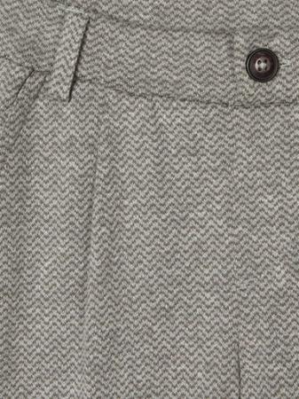 Pantaloni baieti, bumbac organic - Name It Rasse Grey2