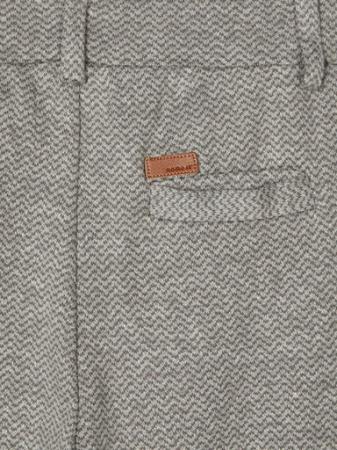 Pantaloni baieti, bumbac organic - Name It Rasse Grey3
