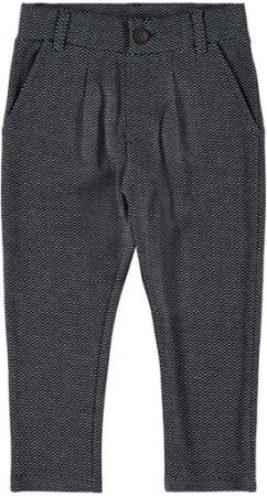 Pantaloni eleganti baieti, bumbac organic - Name It Rasse Sapphire0