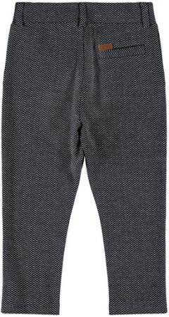 Pantaloni eleganti baieti, bumbac organic - Name It Rasse Sapphire1