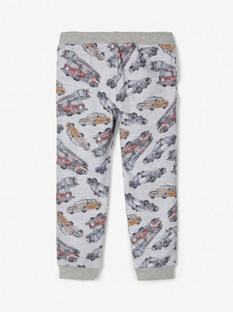 Pantaloni baieti, bumbac organic – Name It Robert Grey1