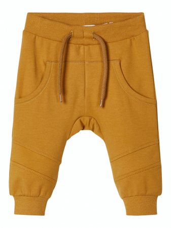 Pantaloni bebelusi, bumbac organic, baieti - Kifun