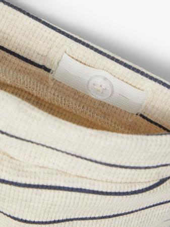 Pantaloni bebelusi, bumbac organic, baieti - Name It Timol Melange3
