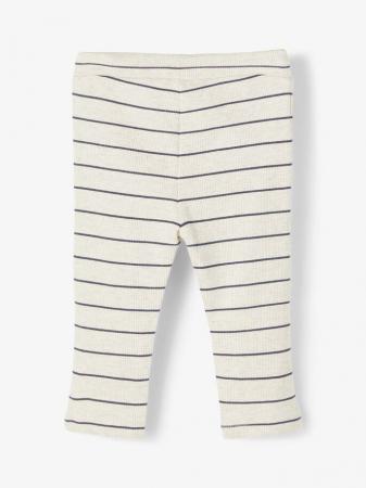 Pantaloni bebelusi, bumbac organic, baieti - Name It Timol Melange1