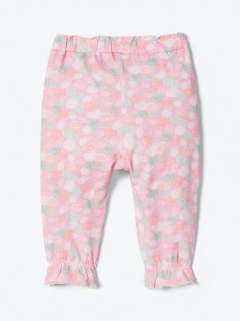 Pantaloni bebelusi, bumbac organic, fete - Josefine1