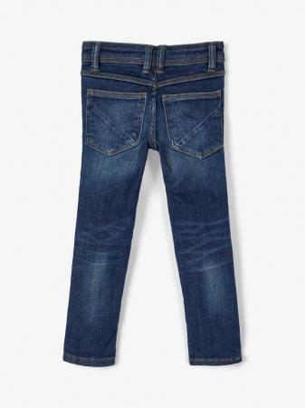 Pantaloni blugi, bumbac organic, baieti - Name It Theo1