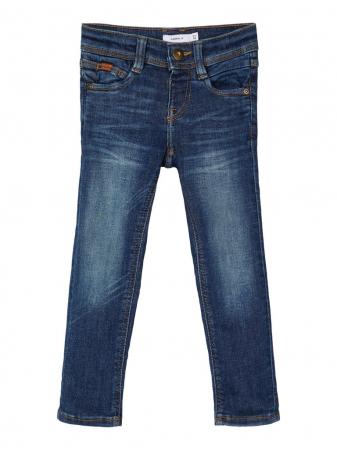Pantaloni blugi, bumbac organic, baieti - Name It Theo0