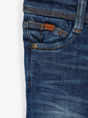 Pantaloni blugi, bumbac organic, baieti - Name It Theo2