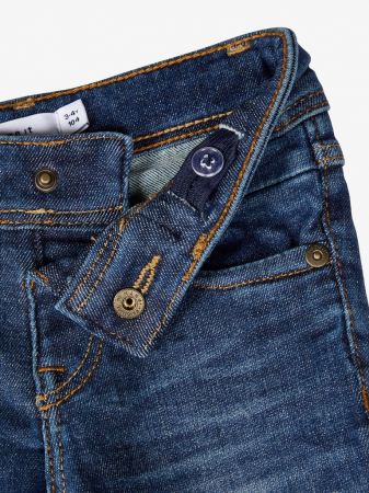 Pantaloni blugi, bumbac organic, baieti - Name It Theo3