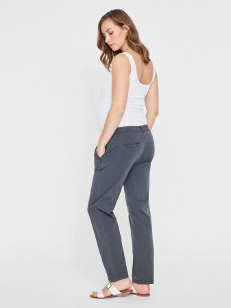 Pantaloni chino pentru gravide Mamalicious Playa1