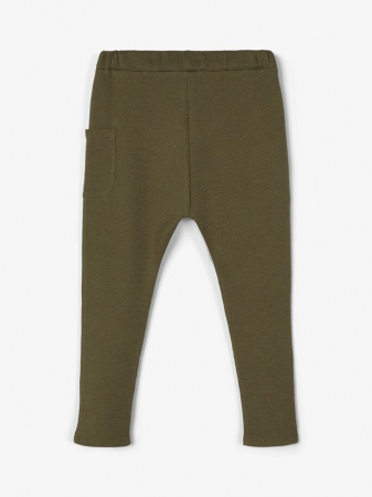 Pantaloni copii, bumbac organic, baieti – Name It Thors Ivy1
