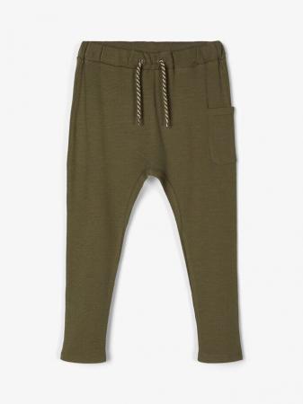 Pantaloni copii, bumbac organic, baieti – Name It Thors Ivy0
