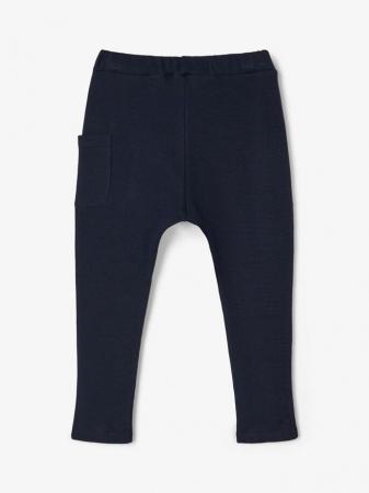 Pantaloni copii, bumbac organic, baieti – Name It Thors Sapphire1