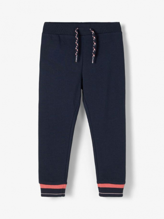 pantaloni-copii-bumbac-organic-fete-name-it-bodil-navy [0]