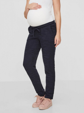 Pantaloni gravide Mamalicious Delaila navy0