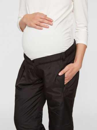 Pantaloni gravide matlasati Mamalicious Sue3