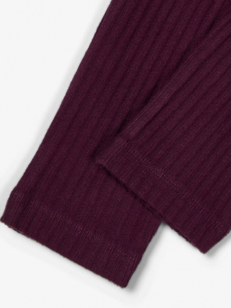 Pantaloni grosi, bumbac organic, fete – Name It Rasmine3
