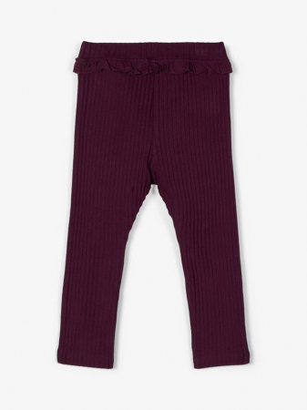 Pantaloni grosi, bumbac organic, fete – Name It Rasmine1