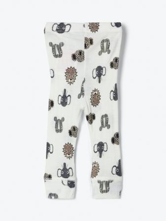 Pantaloni nou-nascuti, lana Merinos - Name It Longjohn [2]