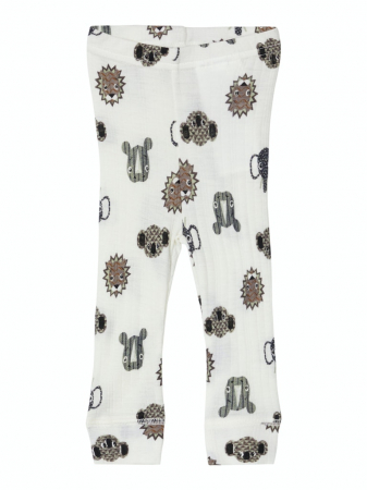 Pantaloni nou-nascuti, lana Merinos - Name It Longjohn [0]