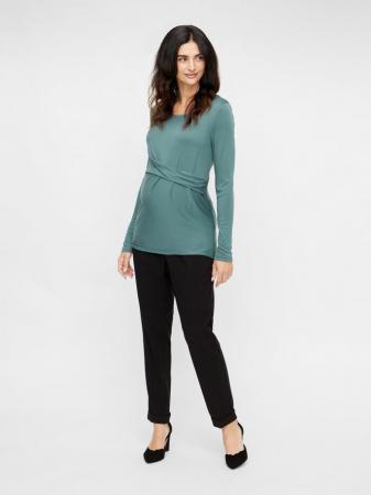 Pantaloni office gravide – Mamalicious Cerise1