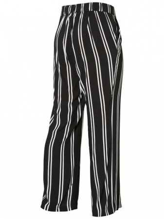 Pantaloni pentru gravide Mamalicious Ebony2