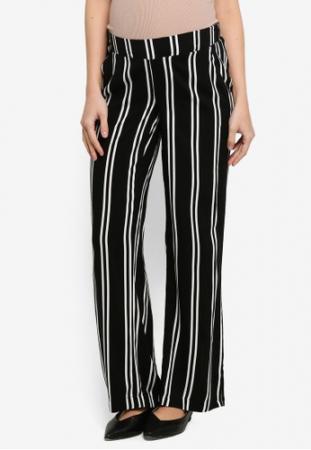 Pantaloni pentru gravide Mamalicious Ebony3