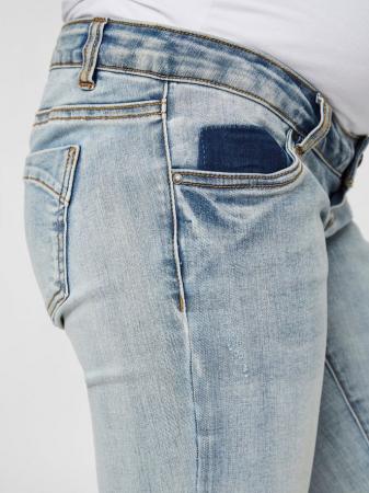 Pantaloni scurti de blugi pentru gravide Mamalicious Marabella3