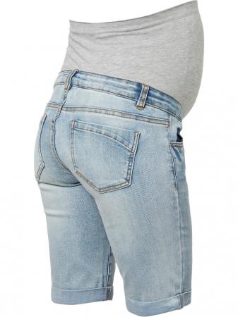Pantaloni scurti de blugi pentru gravide Mamalicious Marabella5