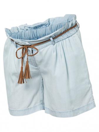 Pantaloni scurti pentru gravide din lyocell Mamalicious Adora5