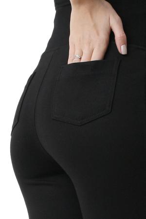 Pantaloni pentru gravide tip leggings din bumbac flausat2