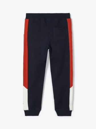 Pantaloni trening baieti, bumbac organic – Name It Omalley Sapphire1