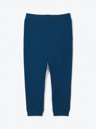Pantaloni trening copii, bumbac organic, baieti – Name It Lanis albastru1