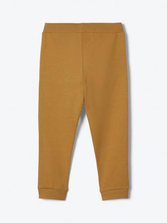 Pantaloni trening copii, bumbac organic, baieti – Name It Lanis mustar1
