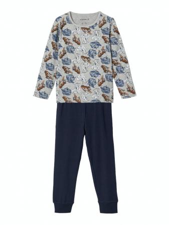 Pijama baieti, bumbac organic - Ani0
