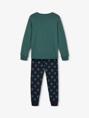 Pijama copii, bumbac organic, baieti - Name It Peppa Pig1