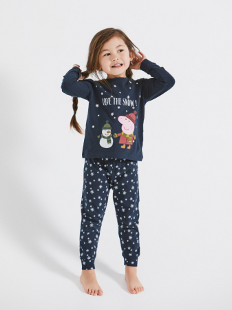 pijama-copii-bumbac-organic-fete-name-it-peppa-pig [0]