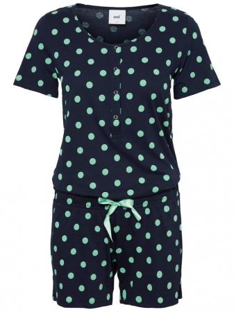 Pijama gravide si alaptare cu pantaloni scurti Mamalcious Chill1