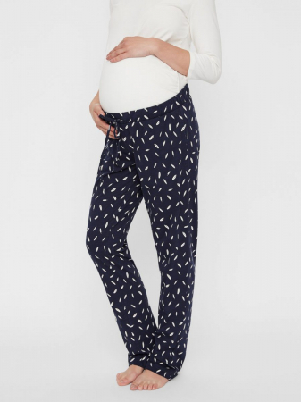 Pijama gravide si alaptare din bumbac organic Mamalicious Chill7