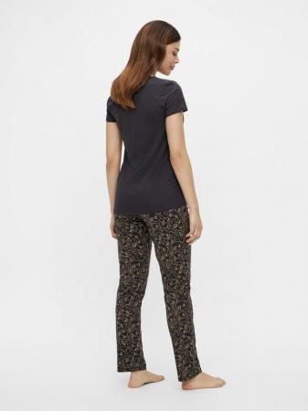 Pijama sarcina si alaptat - bumbac organic - Mamalicious Lia2