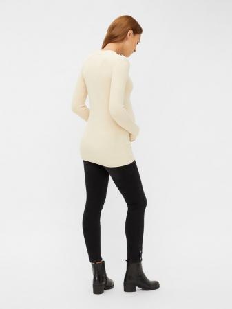 Pulover gravide, tricotaj fin, Mamalicious Jacina2