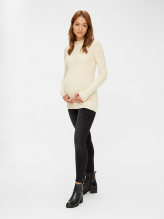 Pulover gravide, tricotaj fin, Mamalicious Jacina1