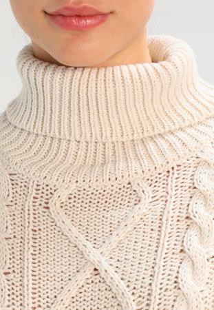 Pulover pentru gravide Mamalicious Cable-tricotat3