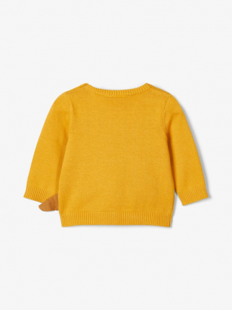 Pulover tricotat bebelusi, bumbac organic, baieti – Name It Nadimme2